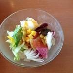 ポムの樹 - ランチのサラダ