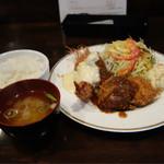 洋食SAEKI - ミックスフライランチ1,000円豪華!
