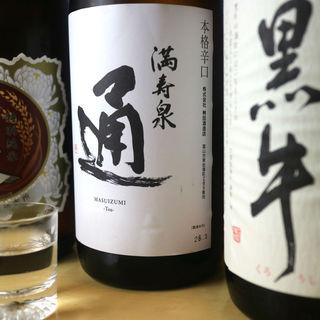 寿司とよく合う日本酒