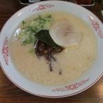 いちもんじ - 豚骨塩ラーメン500円