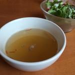スパイシー・タイ - ランチセットのスープ