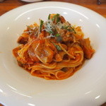 Vivoイタリア食堂 - 鶏となすのトマトソース