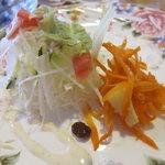 ninjin papa - パスタランチのサラダ