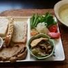 米花 - 料理写真:米粉パンセット