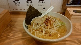 いちろくらーめん 福井駅前店 - 「白もやしらーめん」