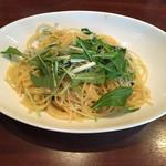 50333172 - しらすと水菜のビアンコスパゲッティ
