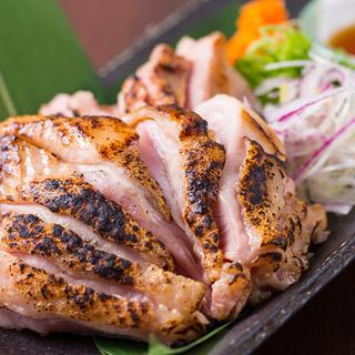 旨味たっぷり!、鳥取県大山産のブランド鶏「がいな鶏」に舌鼓!