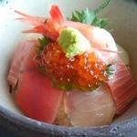 旬菜 さい藤 - (上)海鮮丼 ご飯少なめ