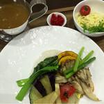 津のものキッチン - かわげ野菜カレー