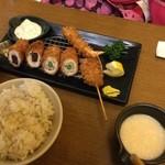 新宿さぼてん - 彩り定食