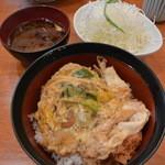 とんかつ 豚ゴリラ - 2016/04 重ねかつ丼 (1,050円)