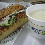 サブウェイ - BLTとスープ