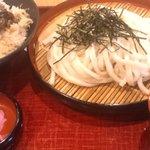 5034309 - 舞茸天丼とざるうどん
