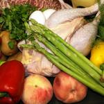 ヴィティス ヴィネリア - あしたか牛、天城軍鶏、地元野菜