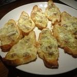 50342888 - サルシッチャとポテトのピザ仕立てクロワッサン