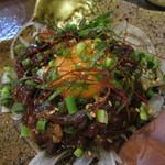 九州居酒屋 一丁目一番地 - 桜肉のユッケ  820円