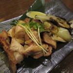 九州居酒屋 一丁目一番地 - 赤しゃものもも塩焼き 690円