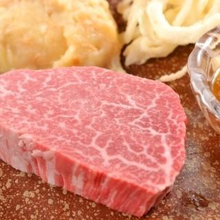 ◆特選素材『岡村牛』店主が一目惚れした愛知でも珍しい厳選和牛