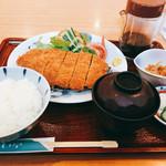 みらい亭 - 料理写真:とんかつ膳
