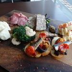 炭火ステーキキッチン&バル - ☆前菜盛り合わせ(●^o^●)☆