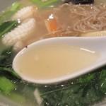 50346856 - スープは、塩系