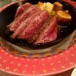50352192 - 『和牛ハツの鉄板焼』¥990-