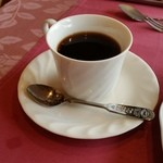 アントレー - 食後のドリンクのコーヒー