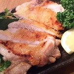 ふく鶴 - 鶏もも塩焼き