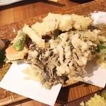ふく鶴 - 春野菜の天ぷら