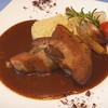 ル リアン - 料理写真:スペイン産豚バラ肉のハーブ煮込み デミソース クスクス添え
