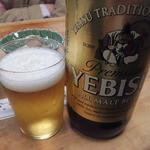 大衆割烹 三州屋 - ビール