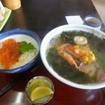 喜多八食堂 - 料理写真:いくらAセット