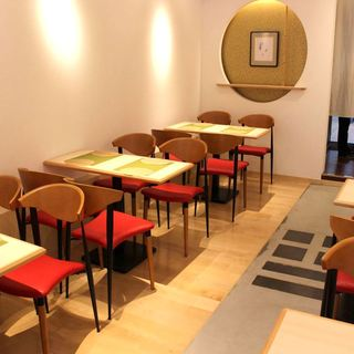新しくなったカフェスペース