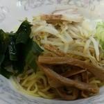丸善 - 油そば味噌チャーハンセット(1000円)の油そば