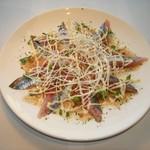 Katsu - 毎日仕入れる、鮮度抜群の魚のカルパッチョ!