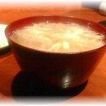 浄水ろくしき - 温かいソーメン
