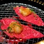 50360038 - モモ肉3秒焼き