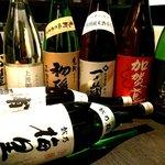 北千住 本丸 - 宴会飲み放題に日本酒は8種類