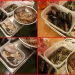 エスパイ クック コウベ - 全て活き素材(三重産大粒ハマグリ、広島産ムール貝、愛知産大粒アサリ、天然車海老)