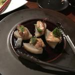50366317 - フォアグラの西京焼きと大根のコンソメ煮