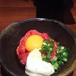 50368028 - 【料理】山かけユッケ