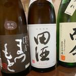 ほづみ - 2016/4/☆  日本酒3種飲み比べ〜〜