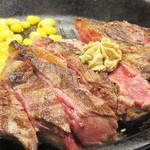 いきなりステーキ イオンモール筑紫野店 - 「がっつりお肉を食べた!」という感覚に浸れる300gのワイルドステーキが                             1,350円(税抜)とは嬉しい価格です。