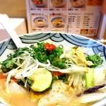 長崎らーめん 琴海 - 野菜ラーメン