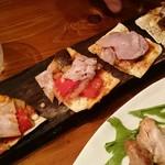 こな吉 - フランスの薄焼きピザ