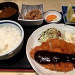 50371470 - カツ定食みそ(850円)(2016.04.現在)
