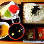 うどん本丸 - 料理写真:なまずセット