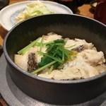 とり傳 - 梅真鯛の釜飯