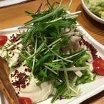 とり傳 - 豆腐サラダ