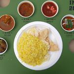 カレーレストラン シバ - LOVE INDIA 2016 のスペシャルターリー